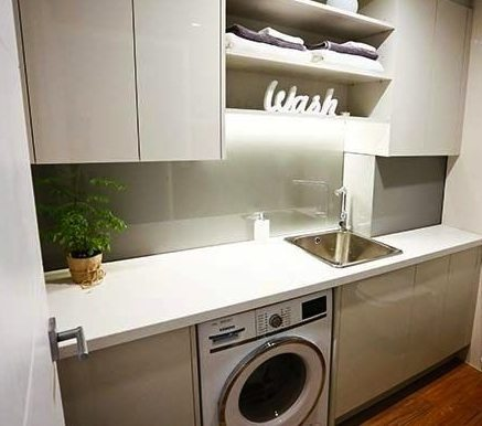 How to make your laundry a workable space