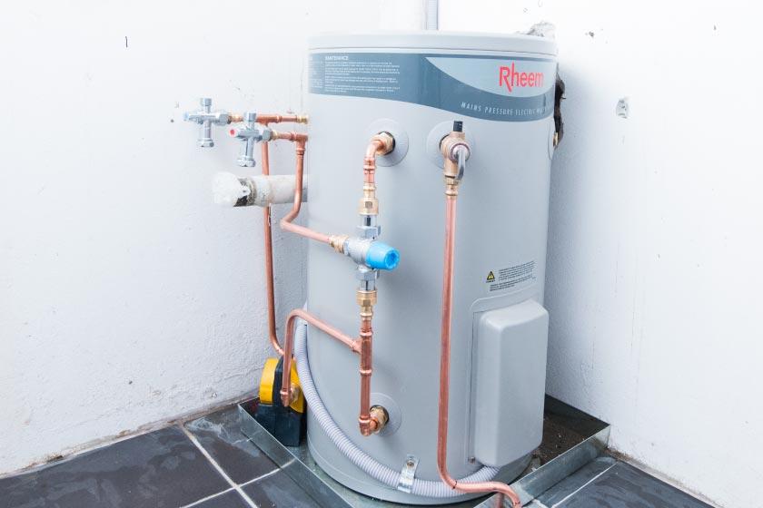 plumbing hot water repairs